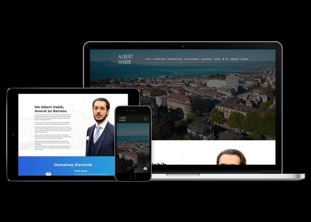 Website Albert Habib